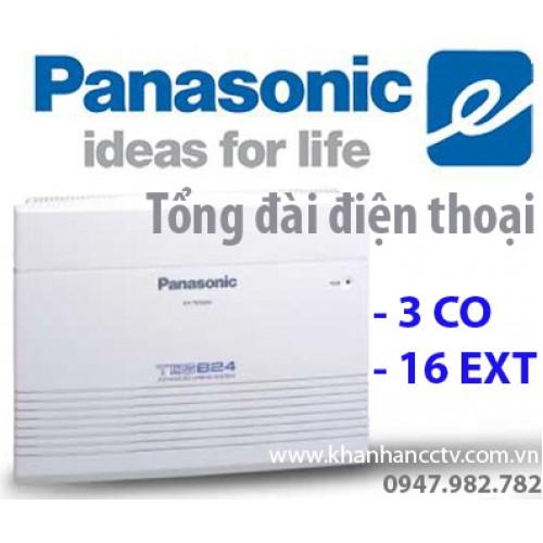 Tổng đài điện thoại Panasonic KX-TES824 (3 vào 16 ra), đại lý, phân phối,mua bán, lắp đặt giá rẻ