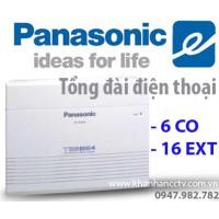 Tổng đài điện thoại Panasonic KX-TES824 (6 vào 16 ra)