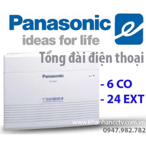 Tổng đài điện thoại Panasonic KX-TES824 (6 vào 24 ra), đại lý, phân phối,mua bán, lắp đặt giá rẻ