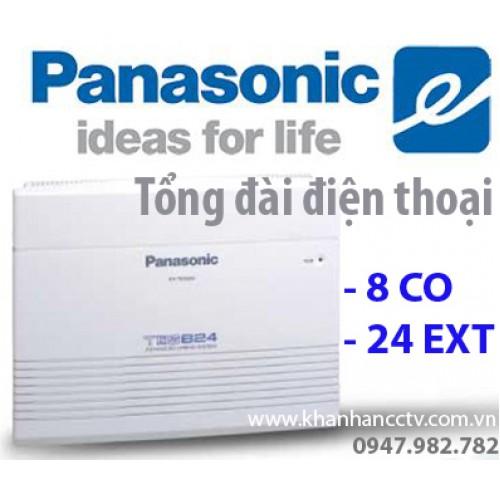 Tổng đài điện thoại Panasonic KX-TES824 (8 vào 24 ra), đại lý, phân phối,mua bán, lắp đặt giá rẻ