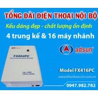 Tổng đài điện thoại ADSUN FX416PC