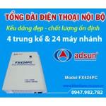 Tổng đài điện thoại ADSUN FX 424PC