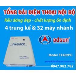 Hướng dẫn lập trình tổng đài điện thoại ADSUN FX432