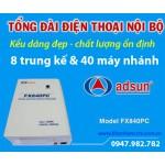 Tổng đài điện thoại ADSUN FX 840PC