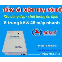 Tổng đài điện thoại ADSUN FX 848PC