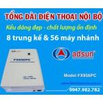 Tổng đài điện thoại ADSUN FX 856PC