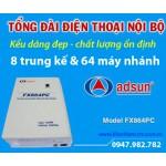 Hướng dẫn lập trình tổng đài điện thoại ADSUN FX864