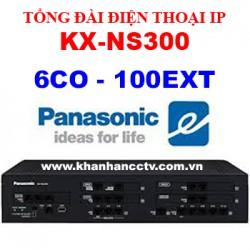 Tổng đài điện thoại IP Panasonic KX-NS300 (6 trung kế 100 nhánh)