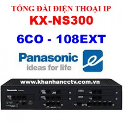 Tổng đài điện thoại IP Panasonic KX-NS300 (6 trung kế 108 nhánh)