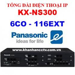 Tổng đài điện thoại Panasonic KX-NS300 (6 trung kế 116 nhánh)