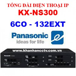 Tổng đài điện thoại IP Panasonic KX-NS300 (6 trung kế 132 nhánh)