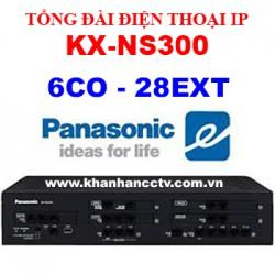 Tổng đài điện thoại IP Panasonic KX-NS300 6 trung kế 28 máy nhánh