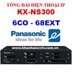 Tổng đài điện thoại IP Panasonic KX-NS300 (6 trung kế 68 nhánh)