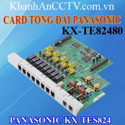 Card tổng đài Panasonic  KX-TE82480
