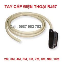 Tay cáp điện thoại RJ57 10 mét