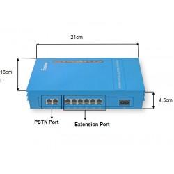 Hướng dẫn lập trình tổng đài PABX MS108