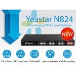 Sự khác nhau giữa Tổng đài Yeastar N824 và Tổng đài panasonic TES824