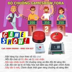 Bộ mạch chuông trò chơi GAMESHOW TORA G4 (4 đội chơi)