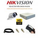 Bộ trọn gói 3 camera HIKVISION giá rẻ 1.0 MP
