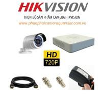 Bộ trọn gói 4 camera HIKVISION giá rẻ 2.0 MP