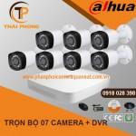 Trọn bộ 7 camera DAHUA 1.0MP CVI cho Gia đình,Cty,Văn phòng,Shop...