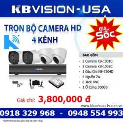 Đại lý ủy quyền phân phối camera KBVISION tại HCM và toàn quốc