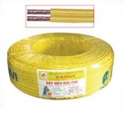 Dây điện đôi mềm bọc nhựa - VCmd 2 x 0.5 (2 x 16)
