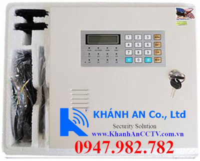 Trọn bộ KS-858EKARASSN 858, trung tâm báo cháy, báo trộm, chống đột nhập, báo khói, báo rò rỉ gas, hệ thống báo cháy, hệ thống báo trộm, báo trộm, báo cháy, pccc