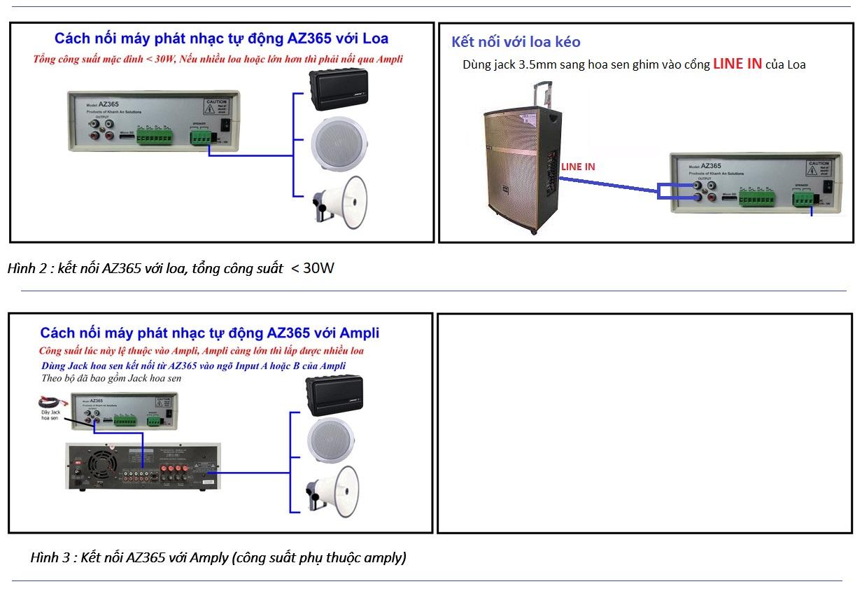 Hướng dẫn sử dụng máy hẹn giờ phát nhạc tự động AZ365, lựa chọn nhạc theo ý muốn