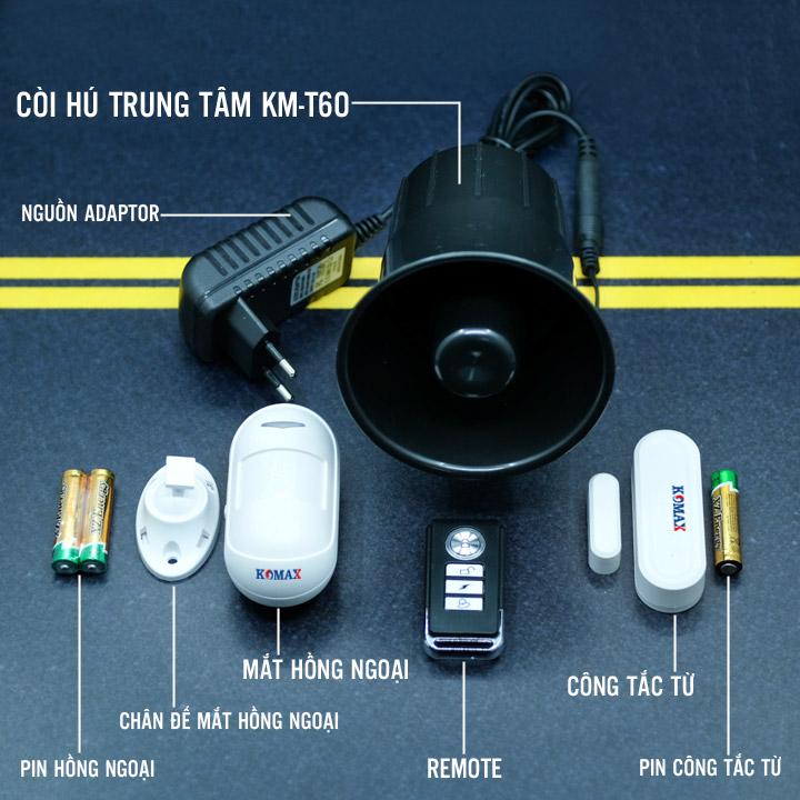 Trọn bộ chống trộm độc lập KM-T60