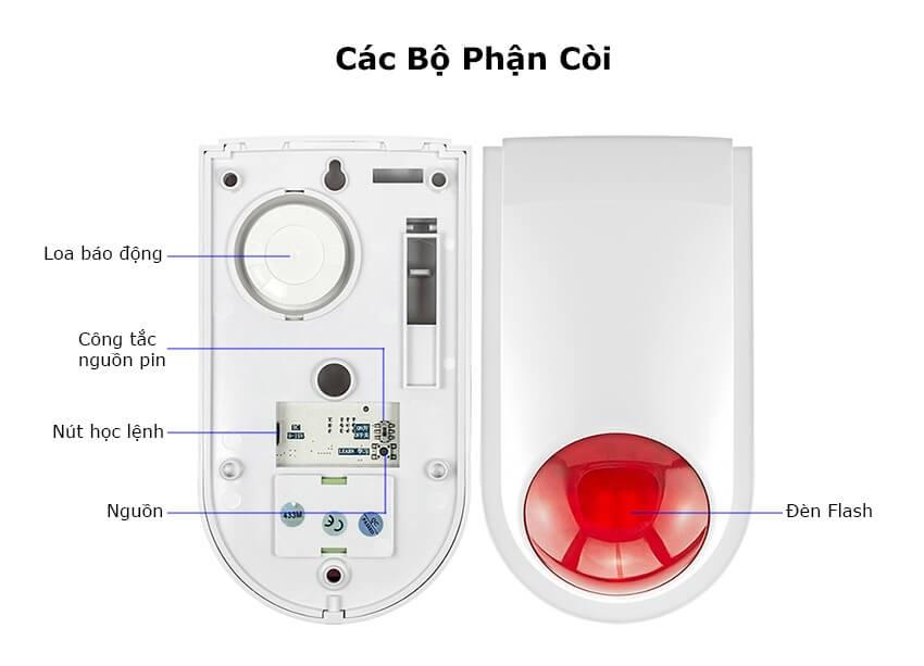 Bộ xử lý của bộ chống trộm TR-C20200