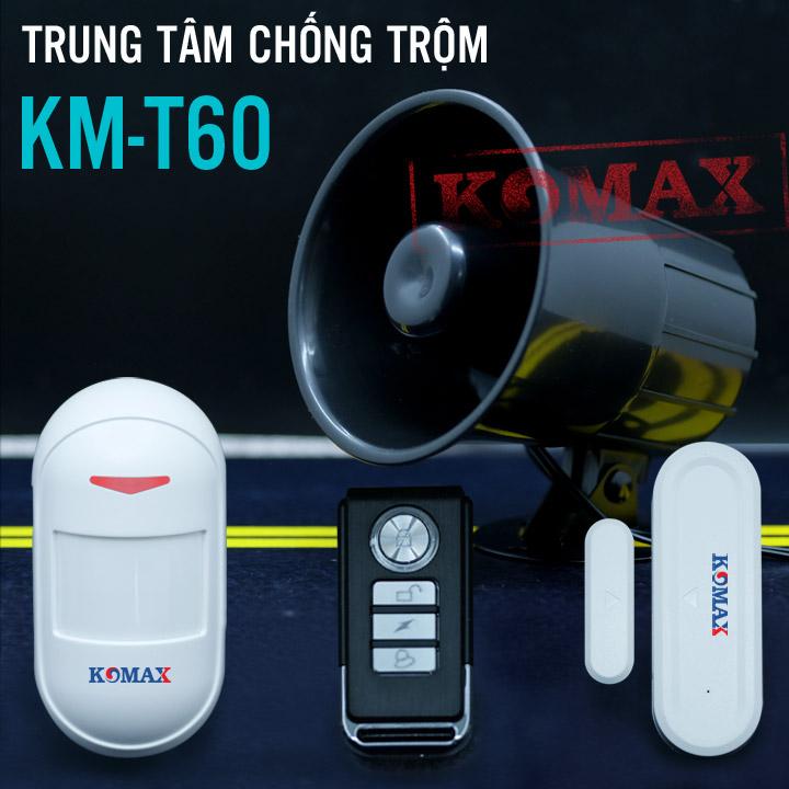 Trung tâm chống trộm KM-T60, đại lý, phân phối,mua bán, lắp đặt giá rẻ