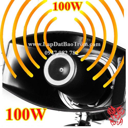 Còi hú công suất lớn TORA TR-C2009 100W nguồn 12V, đại lý, phân phối,mua bán, lắp đặt giá rẻ