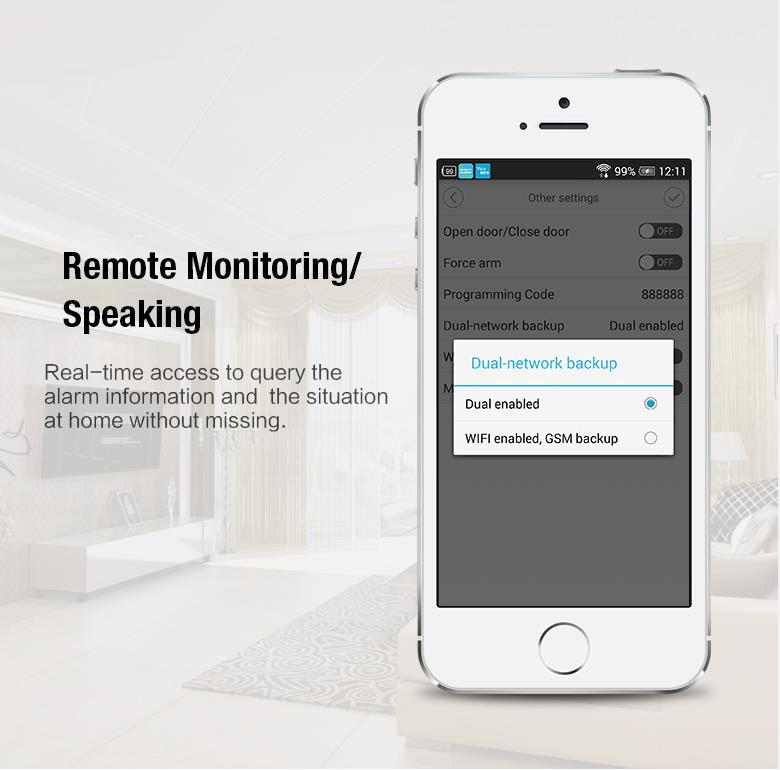 remote monitoring specking