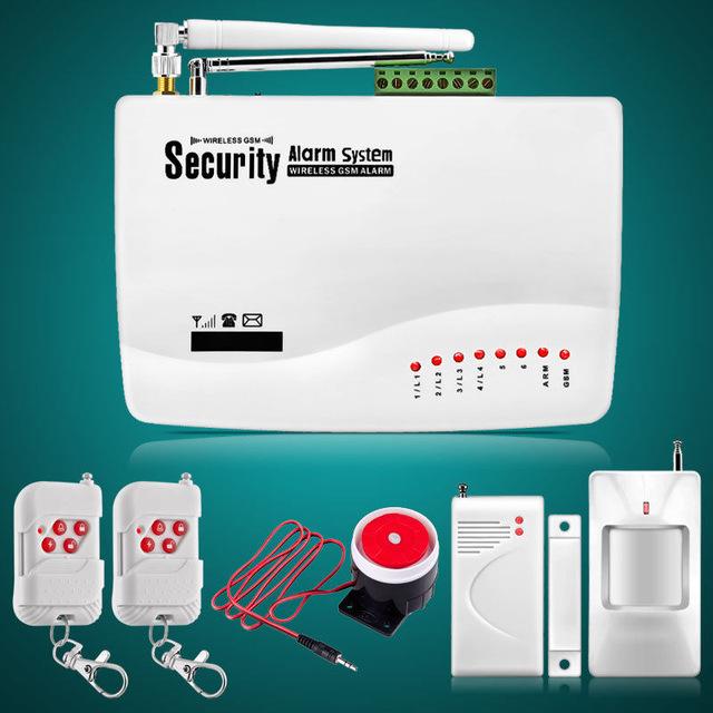 Hướng dẫn cài đặt bộ trung tâm báo trộm qua điện thoại GSM