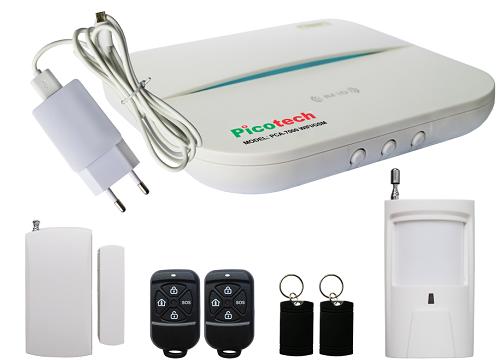 Bộ báo động chống trộm không dây Picotech PCA-7000 WIFI/GSM