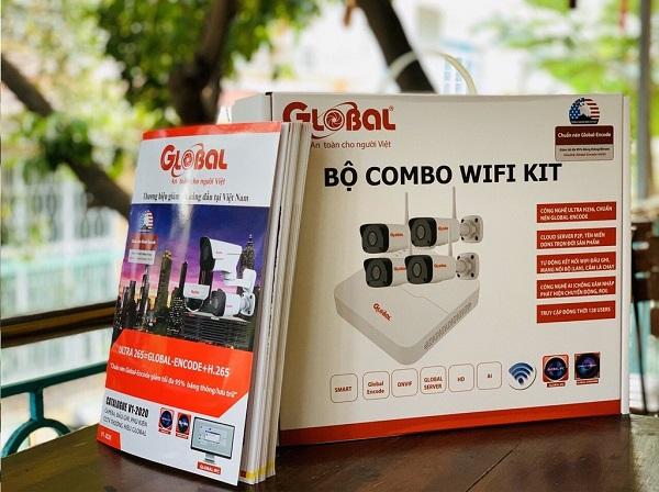 Bộ 4 camera wifi không dây 2.0Mb NVR-0104M-W/TAG-I32L3-FP40-W, đại lý, phân phối,mua bán, lắp đặt giá rẻ