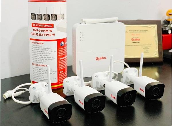 Trọn bộ 4 camera wifi không dây 2.0Mb NVR-0104M-W/TAG-I32L3-FP40-W, đại lý, phân phối,mua bán, lắp đặt giá rẻ