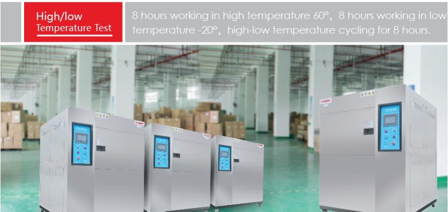 Quy trình kiểm tra khả năng làm việc trong môi trường nhiệt độ cao/thấp của Camera Longse