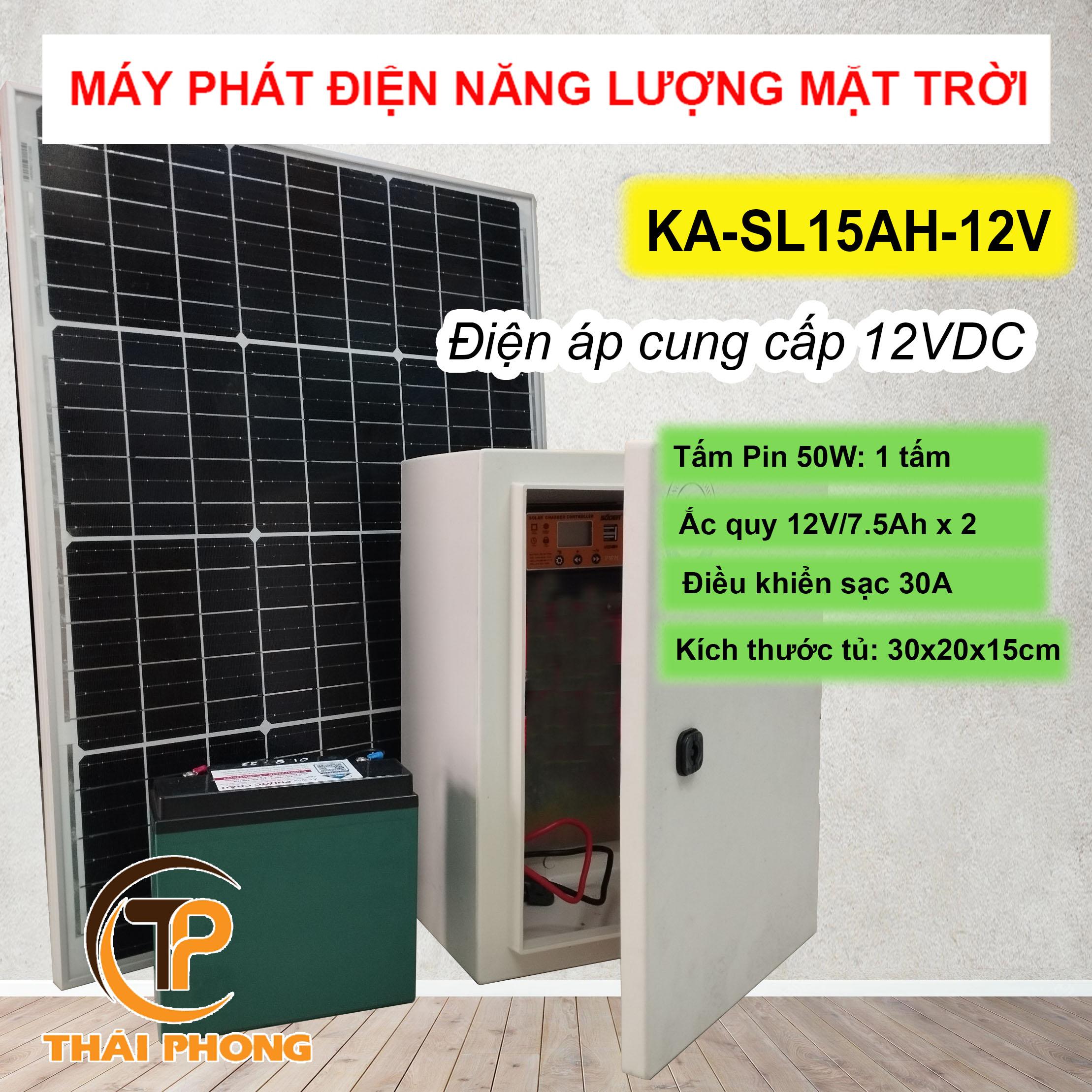 bộ lưu trữ năng lượng mặt trời cho camera