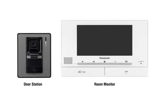 Chuông cửa có màn hình màu Panasonic VL-SV71VN, đại lý, phân phối,mua bán, lắp đặt giá rẻ