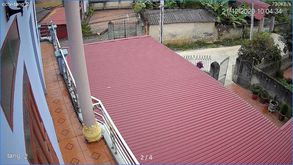 hình ảnh camera hdcvi 1.0m 720p siêu nét