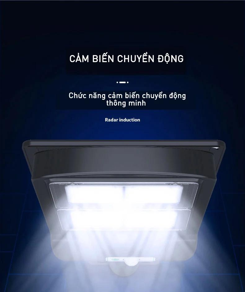 Không cần tắt mở Đèn năng lượng mặt trời KaSolar có chế độ tự động bật sáng khi trời tối