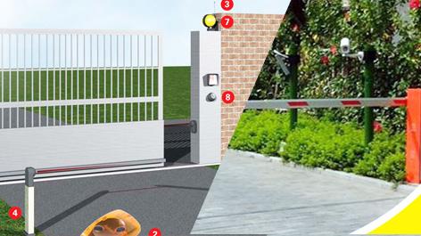 Cổng, Cửa tự động - Auto Door