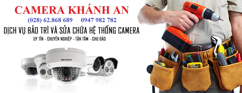 dịch vụ sửa chữa bảo trì camera quan sát