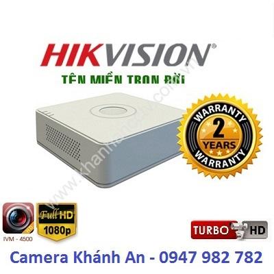 Đầu ghi camera HIKVISION DS-7108HGHI-F1/N(S) 8 kênh, đại lý, phân phối,mua bán, lắp đặt giá rẻ