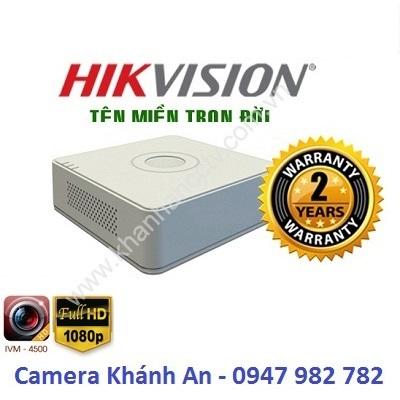 Đầu ghi hình HIKVISION DS-7116HGHI-K1(S) 16 kênh, đại lý, phân phối,mua bán, lắp đặt giá rẻ