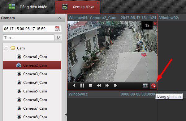 Hướng dẫn xem lại, sao lưu, xuất video của camera Hikvision trên phần mềm iVMS-4200