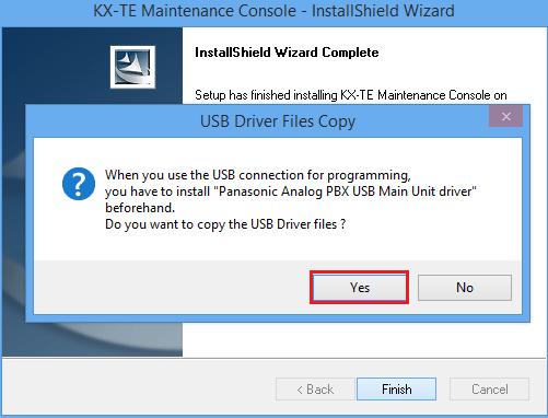 Phần mềm cài đặt tổng đài KX-TES824