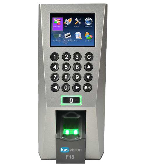 Máy chấm công và kiểm soát cửa KSR-F18, đại lý, phân phối,mua bán, lắp đặt giá rẻ